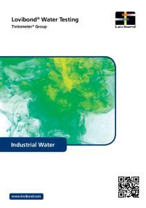 Lovibond Water Testing