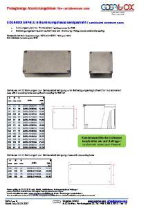 low-cost aluminium cases
