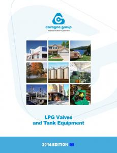 LPG Valves and Tank Equipment