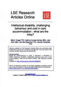LSE Research Articles Online