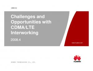 LTE Interworking