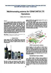 LTE Operations