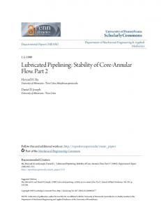 Lubricated Pipelining: Stability of Core-Annular Flow. Part 2