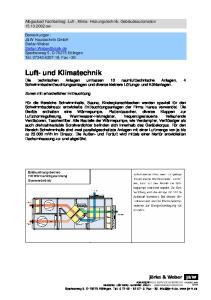 Luft- und Klimatechnik
