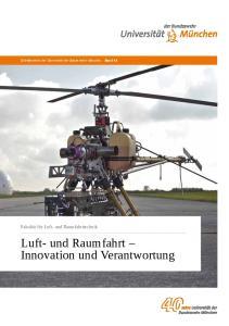Luft- und Raumfahrt Innovation und Verantwortung