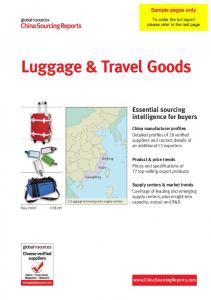 Luggage & Travel Goods