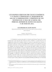 LUIS FERNANDO DE CASTRO MEJUTO