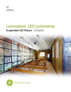 Lumination LED Luminaires