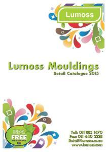 Lumoss Mouldings Pty (Ltd)