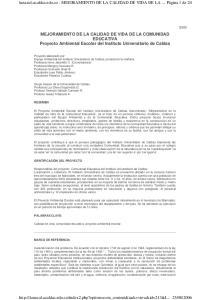 lunazul.ucaldas.edu.co - MEJORAMIENTO DE LA CALIDAD DE VIDA DE LA