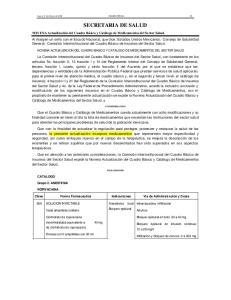 Lunes 11 de febrero de 2002 DIARIO OFICIAL 35 SECRETARIA DE SALUD