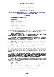 Lunes, 23 de mayo de 2005 CONGRESO DE LA REPUBLICA