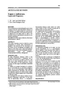 Lupus y embarazo. Lupus and Pregnancy