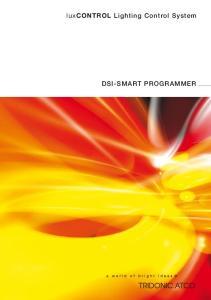 lux CONTROL Lighting Control System DSI-SMART PROGRAMMER