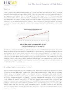 Luxar Fiber Resource Management and Health Platform