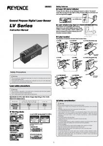 LV Series Instruction Manual