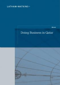 LW.com. Doing Business in Qatar