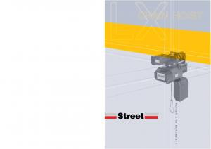 LXCHAIN HOIST. Streetet POWER AND DURABILITY