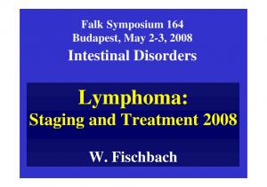 Lymphoma: Staging and Treatment 2008