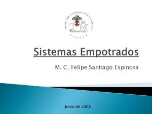 M. C. Felipe Santiago Espinosa