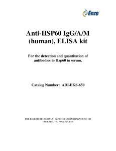 M (human), ELISA kit
