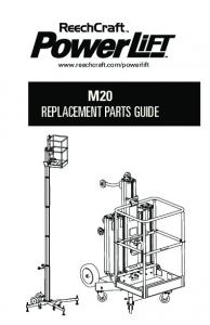M20 REPLACEMENT PARTS GUIDE