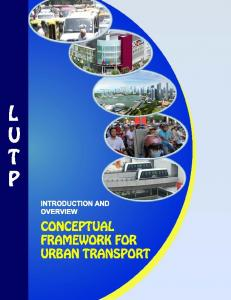 M3): Conceptual Framework for Urban Transport