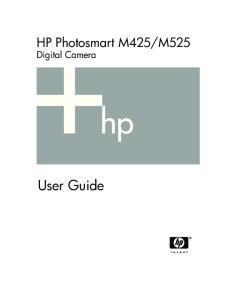 M525 Digital Camera. User Guide