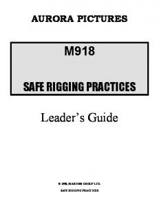 M918. Leader s Guide