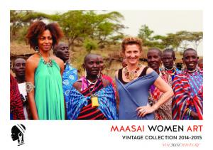 MAASAI WOMEN ART VINTAGE COLLECTION NOT JUST JEWELRY