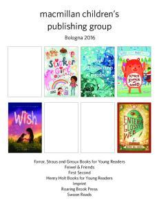 macmillan children s publishing group