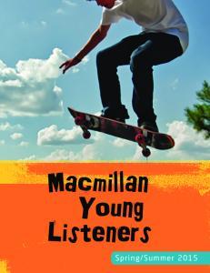 Macmillan Young Listeners