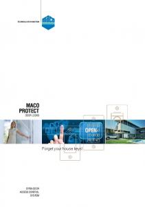 MACO PROTECT DOOR LOCKS