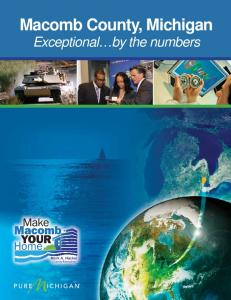 Macomb County, Michigan Exceptional by the numbers