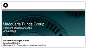Macquarie Funds Group