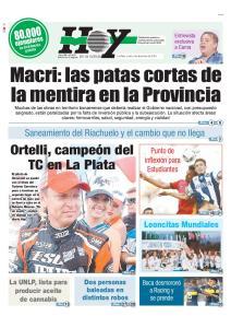 Macri: las patas cortas de la mentira en la Provincia