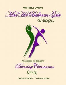 Mad Hot Ballroom Gala