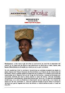 MADAGASCAR 2016 Esencias del Sur Salida especial en grupo