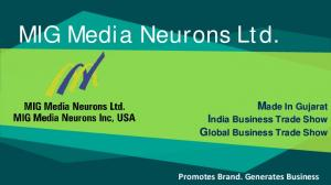 Made In Gujarat India Business Trade Show Global Business Trade Show Promotes Brand. Generates Business