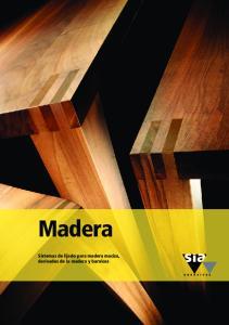 Madera. Sistemas de lijado para madera maciza, derivados de la madera y barnices