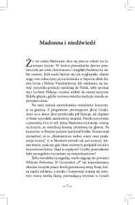 Madonna i niedźwiedź