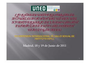 Madrid, 18 y 19 de Junio de 2011