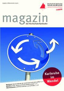 magazin Karlsruhe im Wandel der Hochschule Karlsruhe