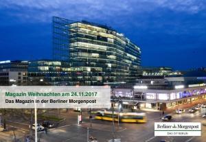 Magazin Weihnachten am Das Magazin in der Berliner Morgenpost Stand