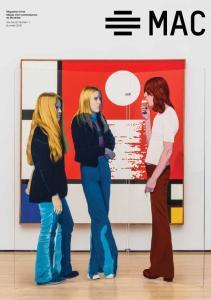 Magazine of the Musée d art contemporain de Montréal Volume 27, Number 1 Summer 2016