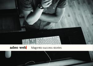 Magento success stories