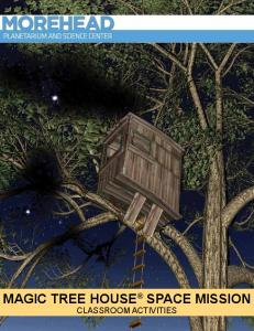 MAGIC TREE HOUSE SPACE MISSION Classroom Activities