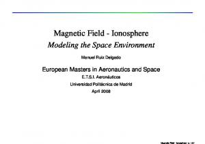 Magnetic Field - Ionosphere