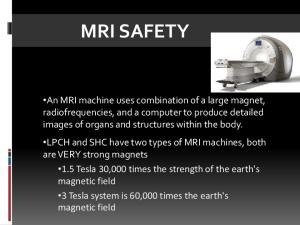 MAGNETIC FIELD SAFETY