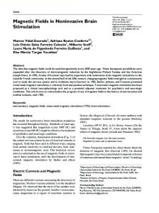 Magnetic Fields in Noninvasive Brain Stimulation